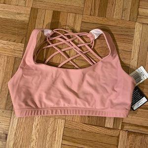 Onzie Flow Blush Pink sports bra M
